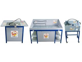 Myjki warsztatowe z obiegiem zamkniętym firmy MST oraz RUSZMOBIL. Mamy także płyny - środki do myjek warsztatowych.