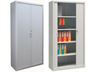 Nowa linia szaf biurowych z drzwiami żaluzjowymi